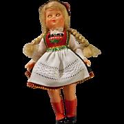 German Doll House Doll in Original Costume