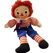 "Vintage ""Raggedy Andy"" by  Knickerbocker"