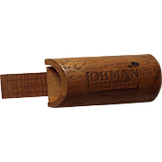 Vintage Wooden Duck Call, Ohman