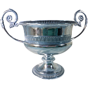 British Sterling Silver Hallmarked Victorian Two Handled Cup