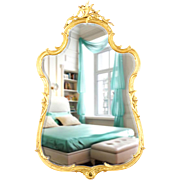 Gilded Mirror by Friedman Bros
