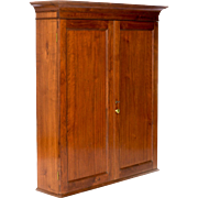 Walnut Upper Cabinet - Antique