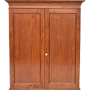 Walnut Upper Cabinet - Antique