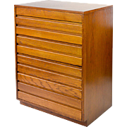 Simple Slat-form Modern Chest