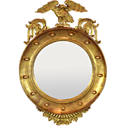 Gilt Wood Convex Federal Mirror - Early 20th c.