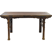 Rustic Antique Chinese Console Table - Painting Table