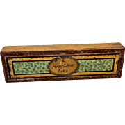 "Tiny painted treen box ""A Brighton Gift"""