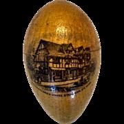 Mauchline Ware Egg Etui