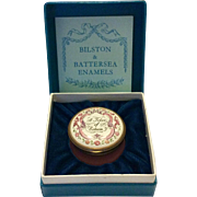 Halcyon Days Enamel Box - A Token of Esteem