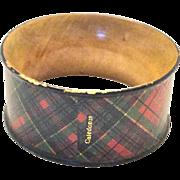 Tartanware Napkin Ring, Caledonia