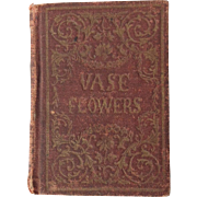 "Doll size book ""Vase of Flowers"""