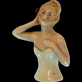 German half doll or pincushion doll