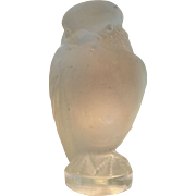 Lalique bird figurine letter seal