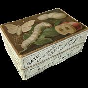 """John D. Cutter & Co. """"Sewing Silk"""" box"""