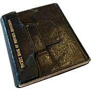 """Doll size book """"Pocket Book of Private Devotions"""""""