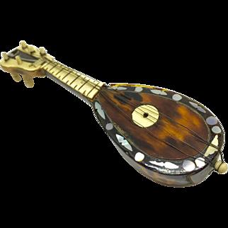 Miniature stringed instrument - mandolin