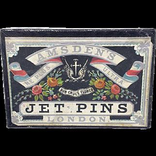 Amsden's Ne Plus Ultra Jet Pins London