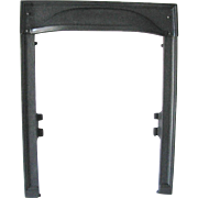 Arts Crafts Castle Hammered Cast Iron Fireplace Fire Door Frame Surround