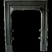 Art Deco Elegant Simple Design Cast Iron Ribbed Fireplace Door Frame Surround