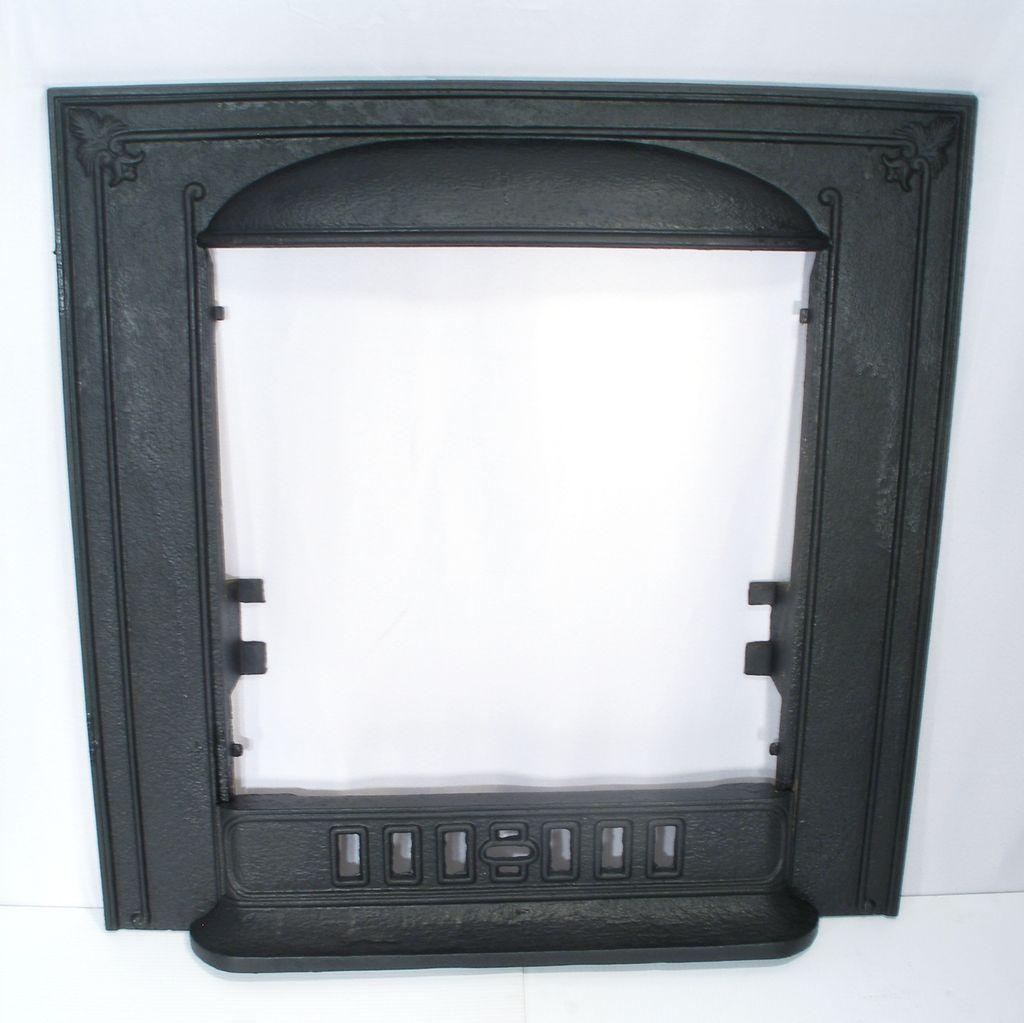 cahill cast iron fleur de lis door frame surround fire place