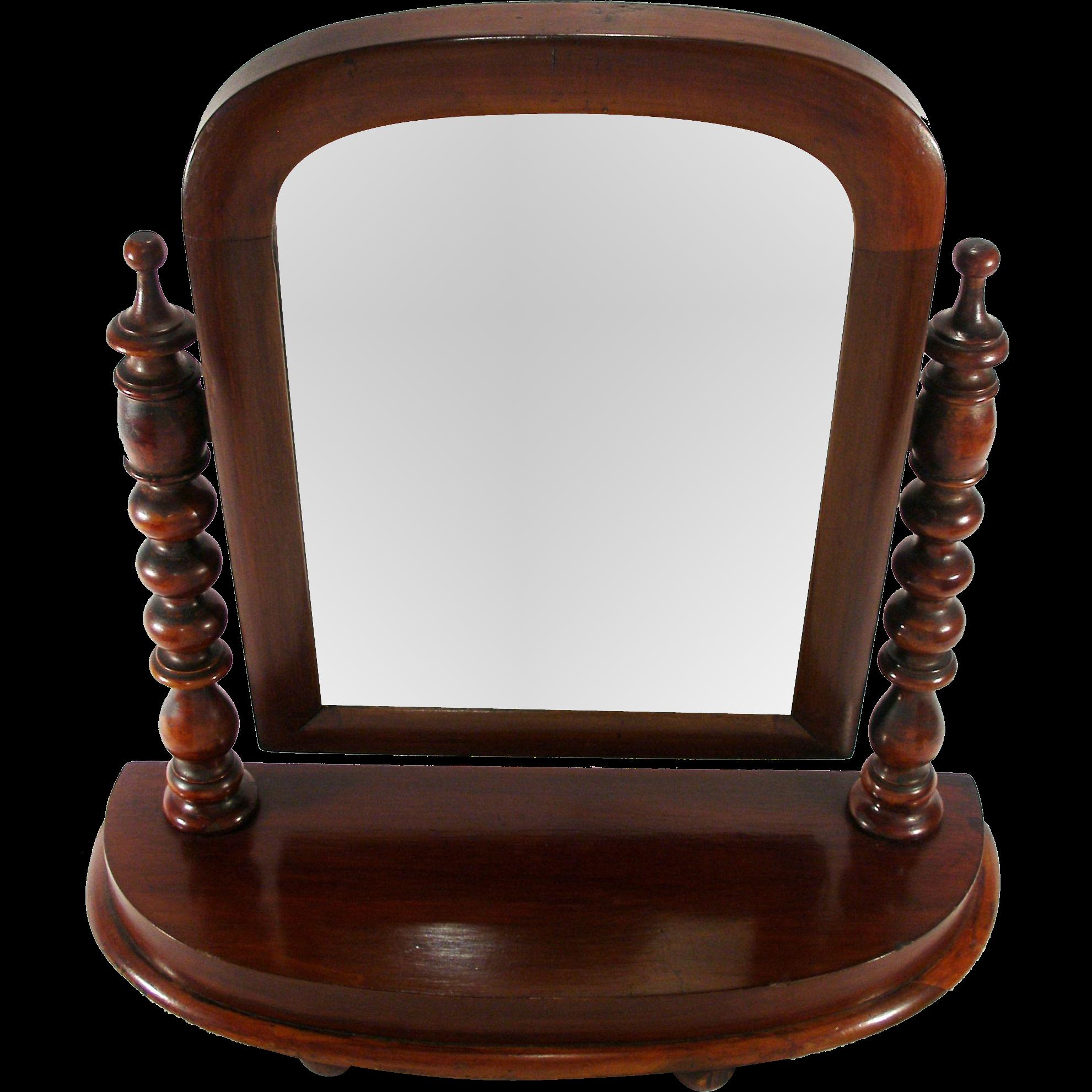 Antique Mahogany Arts Crafts Adjustable Mahogany Frame