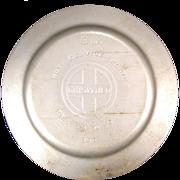 Vintage Cast Iron Griswold Erie Large Block Logo 850 Chrome Hot Service Plate