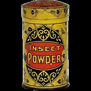 Taite & Sisler Co. Boxes Insect Powder Tin