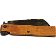 Belgian Broad Bladed Folding Knife