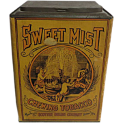 Sweet Mist Chewing Tobacco Container