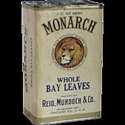 Large 4 oz. Monarch Whole Bay Leaves Box