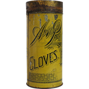 Large A&P Sultana Spice Mills Cloves Tin
