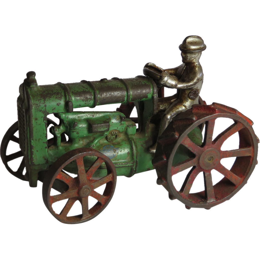Cast Iron Arcade Fordson Tractor From Thecuriousamerican