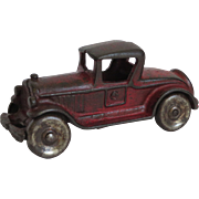 """""""Dent"""" Cast Iron Toy Roadster"""