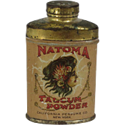Natoma Talcum Powder Sample Tin
