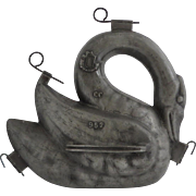 Pewter Swan Banquet Ice Cream Mold