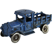 "A.C.William 3 1/4"" Blue Stake Truck"