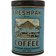 Vintage Freshpak Coffee Tin