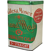 Niles & Moser Cigar Tin