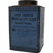 Great American Mocha and Java Blend