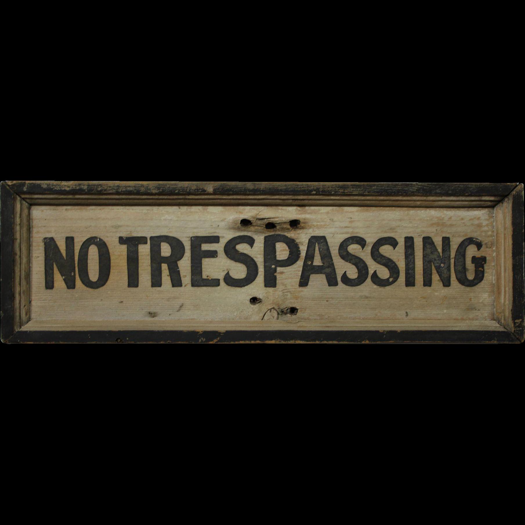 Vintage Wooden Sign 84