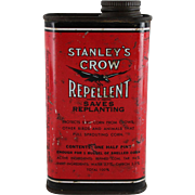 Stanley's Crow Repellent Tin