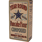 Year Round Pancake Flour Box