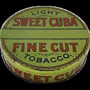 Sweet Cuba Fine Cut Tobacco Tin