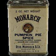 Monarch Pumpkin Pie Spice Container