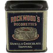 Rockwood's Trial Size Decorettes Tin