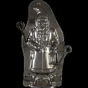 Laurosch Santa Holding Lantern Chocolate Mold
