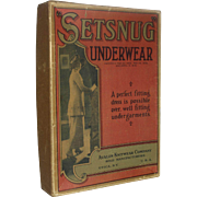 "Vintage ""Setsnug"" Underwear, Ladies Garment Box"