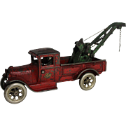 "Arcade ""Model A"" Ford Wrecker with ""Weaver"" Wrecker Boom"