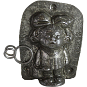 """Anton Reiche """"Little Jane with Watering Can"""" Chocolate Mold"""