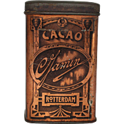 "Vintage ""Gamin Cacao""  Dutch Cocoa Tin"